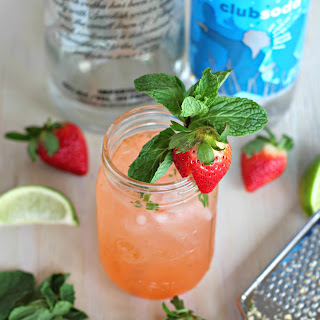 Strawberry Ginger Fizz