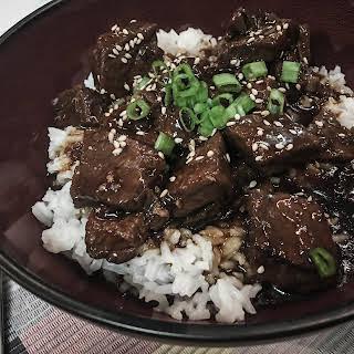 Korean Beef Instant Pot.
