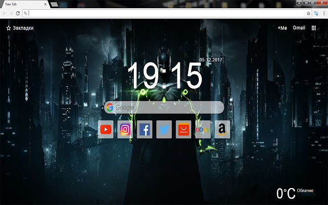 DC Comics - New Tab Wallpapers & Themes HD