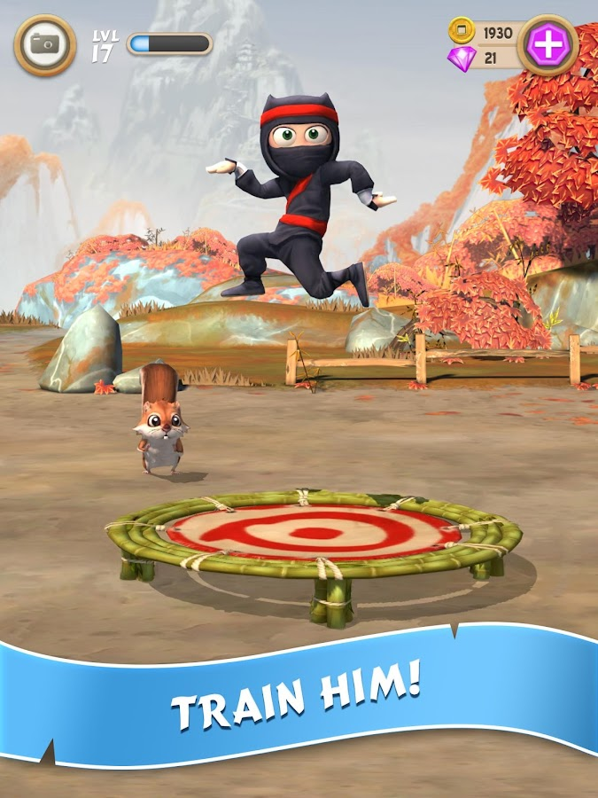 Clumsy Ninja- screenshot