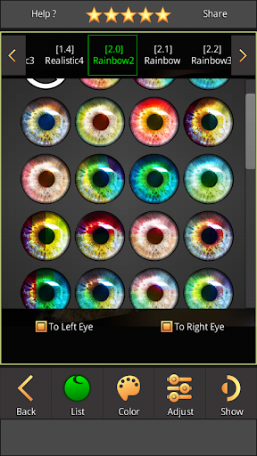 FoxEyes - Change Eye Color by Real Anime Style screenshot 17