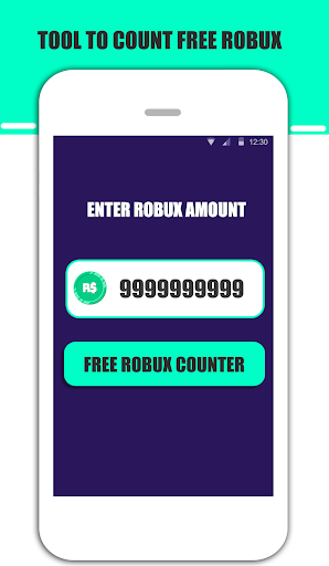 Free Robux Instant Counter For Roblox 2019 cheat hacks