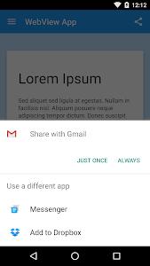 WebView App Demo screenshot 7