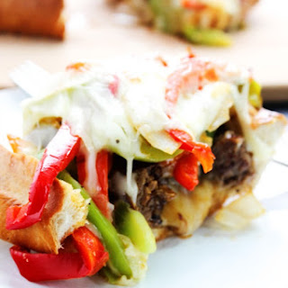 Cheesy Italian Sausage & Pepper Stuffed Bread