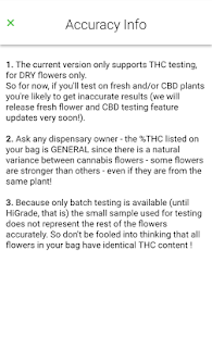 HiGrade - Cannabis Analytics- screenshot thumbnail