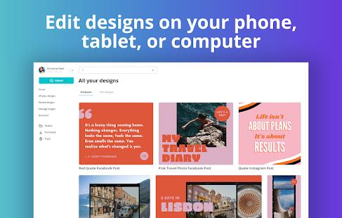 Canva: Graphic Design, Video, Invite & Logo Maker Screenshot