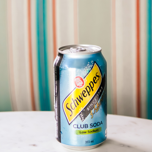 Canned Soda Water