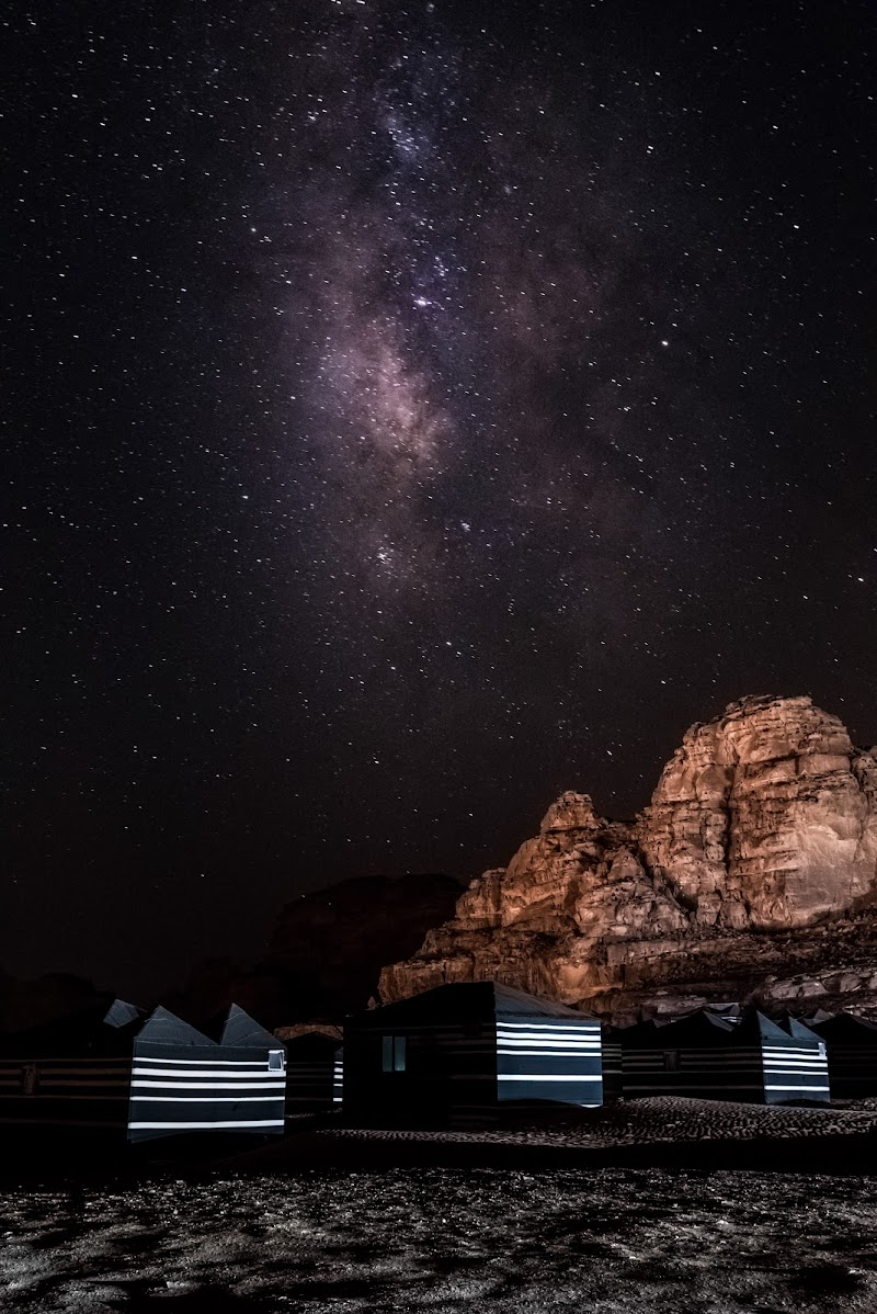 Milky way in Wadi Rum di brunoguerciotti1990