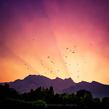 Photo: have a nice evening PRINTS: https://crated.com/art/71118/pink-skies-and-purple-mountains-by-dirkwustenhagen