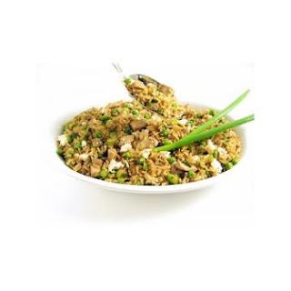 Skinnylightful Chicken Fried Rice.