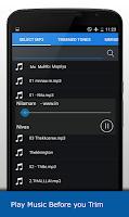 Screenshot of MP3 Cutter