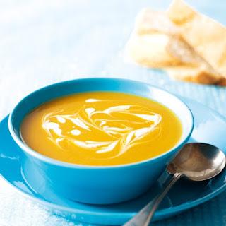 Butternut and Sweet Potato Soup.