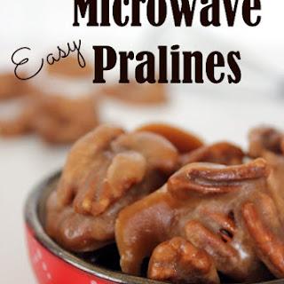 Easy Microwave Pralines
