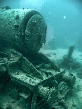 Photo: Locomotive off the port side of the Thistlegorm (WW2 wreck) . A Stanier 8F, the same type as the one I'd seen pulling a steam sprcial at Fort William the previous week !