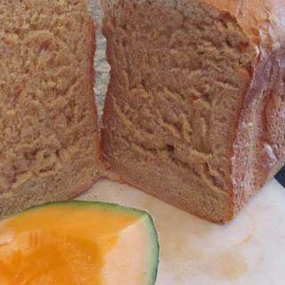 Fresh Cantaloupe Bread.