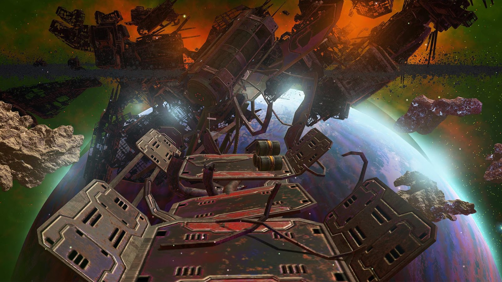 VR Roller Coaster: GALAXY 360 in Deep Space- screenshot