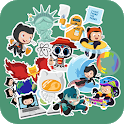 WAStickerApps: Stickers App For WhatsApp icon