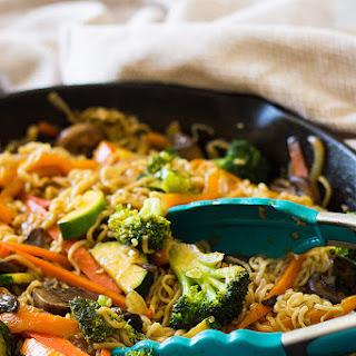 Easy Vegetable Ramen.