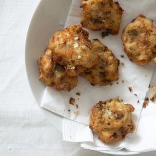 Okra Cornmeal Fritters