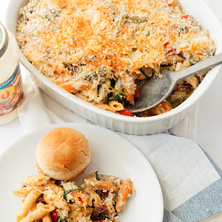 Baked Pasta With Tomatoes, Arugula, And Bacon + Ready. Set. Cook!