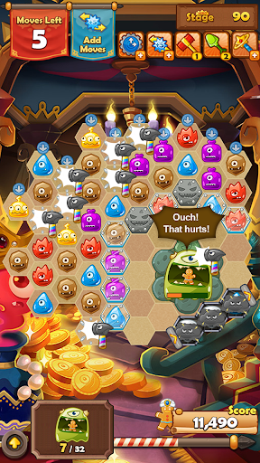 Monster Busters: Hexa Blast 1.2.22 screenshots 5