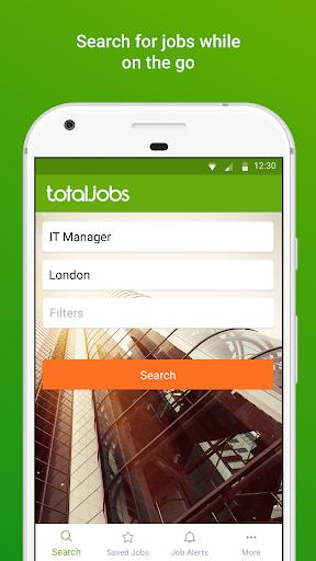 Totaljobs - UK Job Search app screenshot 1