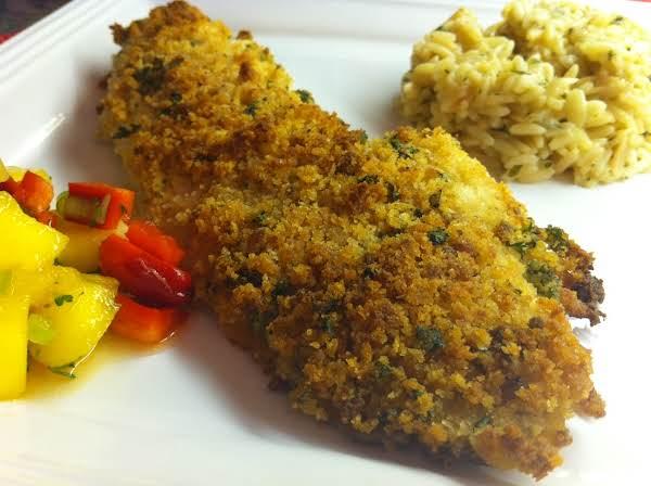 Panko Breaded Fish Fillet Recipe