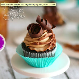 Chocolate And Caramel Swirl Cupcakes