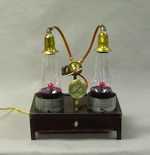 Photo: steampunk dual plasma lamp
