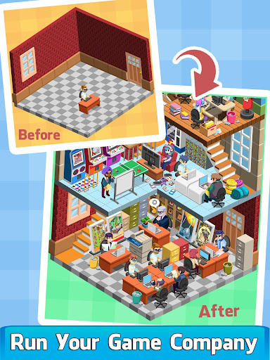 Code Triche Video Game Tycoon - Idle Clicker & Tap Inc Game APK MOD screenshots 1