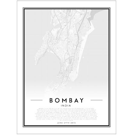 CITY MAP - BOMBAY