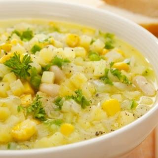 Corn & Crab Chowder.