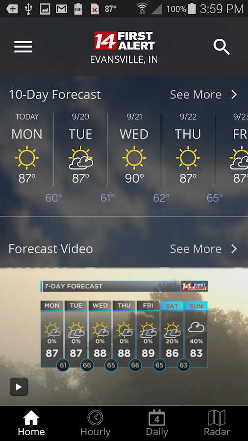14FirstAlert Weather TriState- screenshot