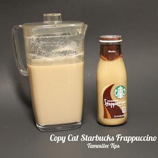 Copy Cat Starbucks Frappuccino.