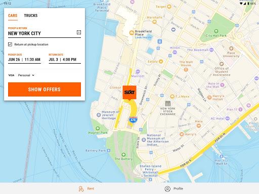 SIXT: Car rental, Carsharing & Taxi  screenshots 5