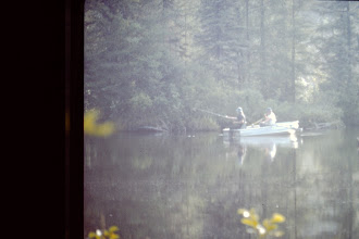 Photo: Fishing in the bay.