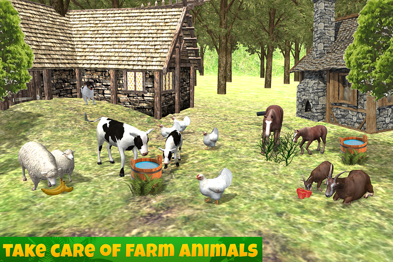 Farm Animals Family Survival- screenshot