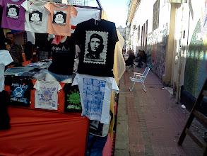 Photo: サンテルモの日曜市 路上でカリンバを買った。
