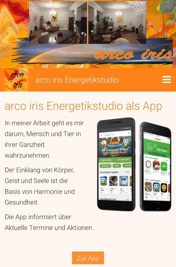 arco iris Energetikstudio- screenshot