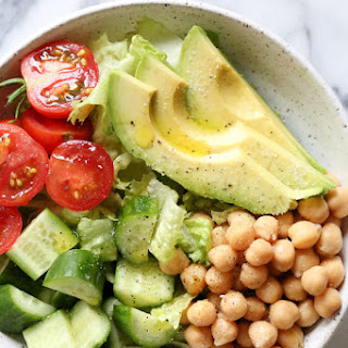 Chickpea Avocado Salad.