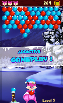 Bubble Shooter Winter Pop - screenshot
