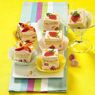 Mini Strawberry Margarita Cakes.