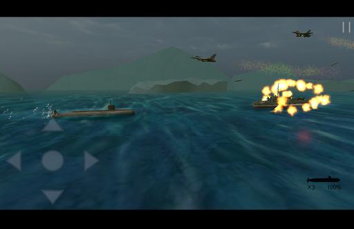 Grass spot - Action submarine
