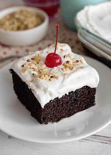 Chocolate Sundae Cake - Southern Plate