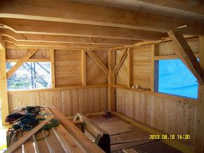 Photo: Master bedroom inside wall on.