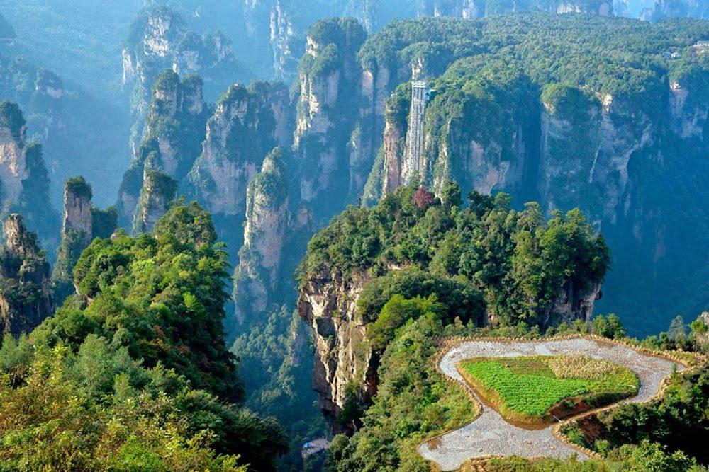 Bailong: O mais alto elevador panorâmico do mundo