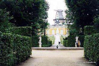 Photo: Potsdam. Sanssouci.
