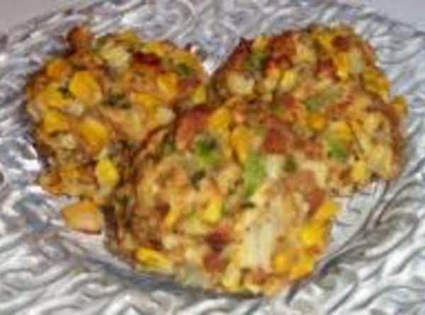 Corn Stuffing Balls Recipe