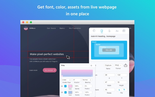 Collaboration tool for website feedback and fixing design bugs. Visual Inspector by CanvasFlip   Chrome Web Store