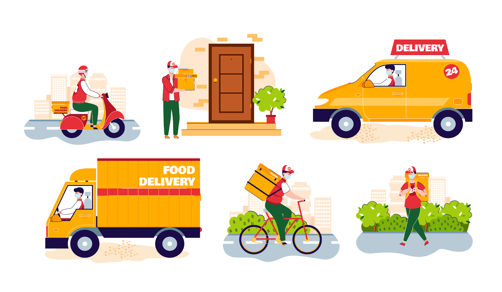 What is contactless delivery: Tookan